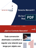 De Los Contratos Bancarios