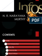 Narayan Murthy Presentation and Comparison with Steve Jobs