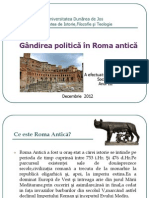 Gandirea Politica in Roma Antica - Copie