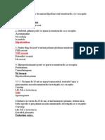 Grile endocrino MD III