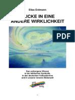 8129212 Elias Erdmann Blicke in Eine Andere Wirklichkeit eBook Esoterik