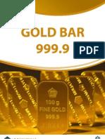 Gold Bar 999.9