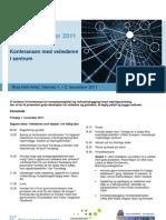 Program Med Foredragsholdere Etablererveileder 2011
