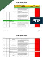 ISO 27001 Compliance Checklist