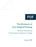 ASiT Core Training Discussion document