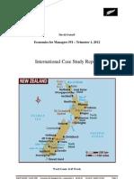 New Zealand Economy