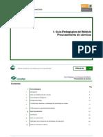 Guia Pedagogica y de Evaluacion Del Modulo de Carnicos