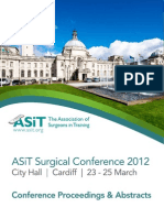 ASiT Conference Cardiff 2012 - Abstract Book