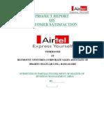 Airtel Report IV Sem