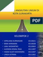 Analisis Perencanaan Operasional Angkutan Umum Di Kota Surakarta