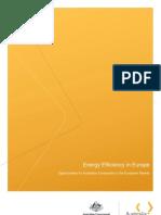 Energy Efficiency in Europe (1)