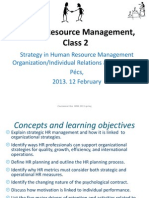 Hr m Class 2 Strategy and Retention
