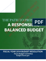 FY14 Budget Blueprint