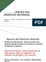 Antecedentes Del Derecho Notarial