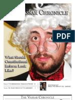 Vassar Chronicle, April 2011