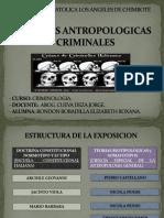 Teorias Antropologicos Criminales
