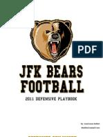 2011 Jfk Bears Defensive Playbook