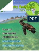 """3ª Carta Ambiental """"Potencial económico y social de los ecosistemas marinos sanos"""""""