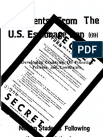 Documents from the US Espionage Den Vol. 69