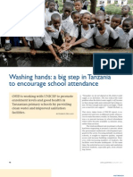 A Big Step in Tanzania to Encourage School Attendance