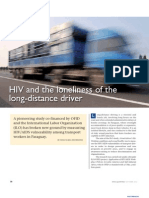 HIV and the Loneliness of the Long-distance Driver