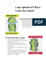Water and Lateral Hazard Options
