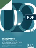 Disrupt Inc Report RSA