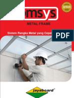 Brosur Metal Frame