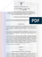 Resolucion 2646 de 2008 Riesgo Psicosocial