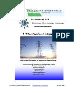 L'électrotechnique Notion de base et réseau électrique.pdf