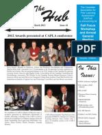 CAPLA Hub Newsletter March 2013 FINAL