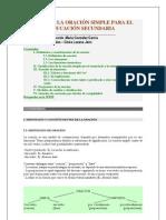 Sintaxis de la oración simple para E. Secundaria.pdf