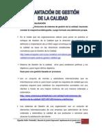 IMPLEMENTACIÓN DE LA CALIDAD