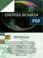 Energia Biomasa(Presentacion)