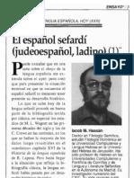 CursoDeLadino.com.ar - El español sefardí (judeoespañol, ladino) - Iacob Hassán