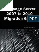 Exchange Server 2007 to 2010 Migration Guide V1.0 - Planning Chapter