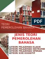 Teori Pemerolehan Bahasa Bm2