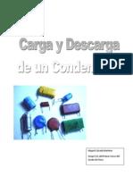 Carga y Descarga de Un Condensador Por Miguel Calzada