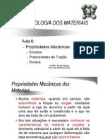 Aula 6 Propriedades Mecanicas Dos Materiais