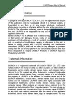 X431 Diagun Manual English