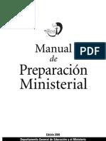 Manual de Prep. Ministerial COMPLETO
