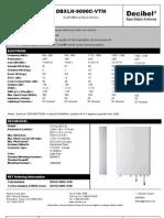 DBXLH-9090C-VTM Antenna Specs