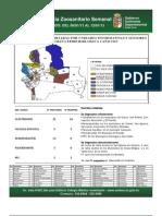 Semana Epidemiológica 2/2013, del sistema de vigilancia de Sanidad Animal; Santa Cruz, Bolivia
