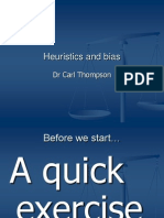 Heuristics and Bias