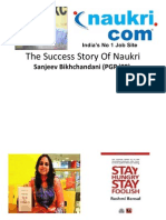 The Success Story of Naukri