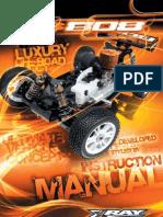 XRAY XB808 Instruction Manual