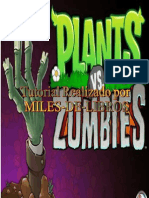 Tutoria Plantas vs Zombis