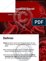 Referat Transfusi Darah Imas