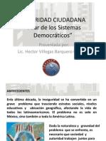 Conferencia Lcdo. Hector Villegas - Mexico