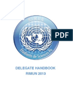 Reims International MUN Handbook